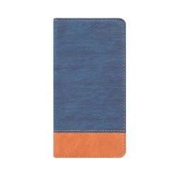 Diarové puzdro Smart Retro cover pre Samsung S8 modro-hnedé