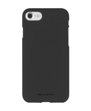 Silikónové puzdro na Apple iPhone 7/8/SE 2020 Mercury Soft čierne