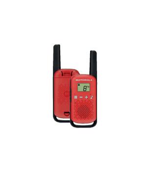 Vysielačka Motorola T42 twin-pack červená