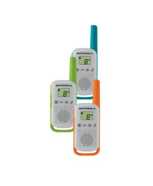 Vysielačka Motorola T42 triple-pack šedá
