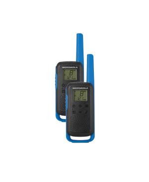 Vysielačka Motorola T62 twin-pack + nabíjačka modrá