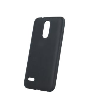 Silikónové puzdro Matt TPU pre Samsung Galaxy J4 Plus čierne