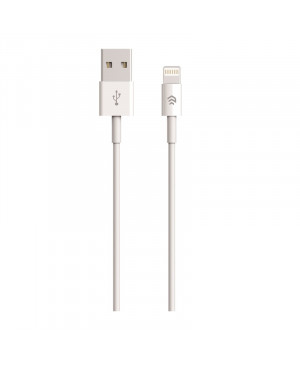 Apple lightning kábel Devia 8-pin 2 m biely