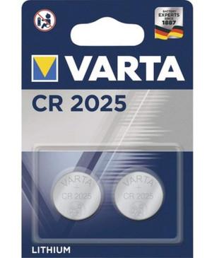 Gombíková batéria Varta CR2025 3V Duo Pack