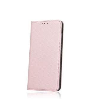 Diárové puzdro na Samsung Galaxy A32 5G Smart Magnet ružovo zlaté