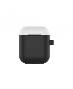 Case Devia Naked2 for Apple Airpods black-yellow