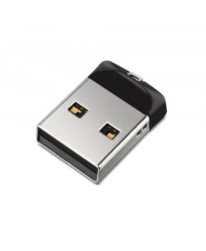 USB kľúč 16 GB SanDisk CRUZER FIt 2.0 čierno strieborný