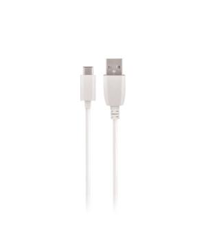 Dátový kábel Maxlife type-C 2A 3m biely