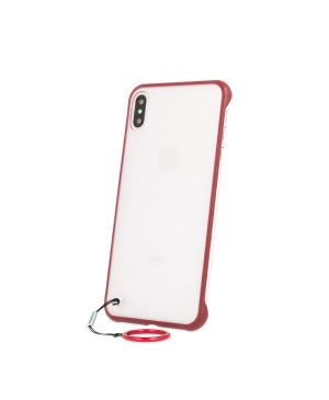 Bezrámové puzdro pre Samsung Galaxy S10 červené