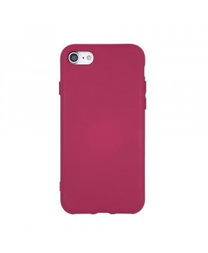 Silicon case for Huawei Y5 2019 maroon