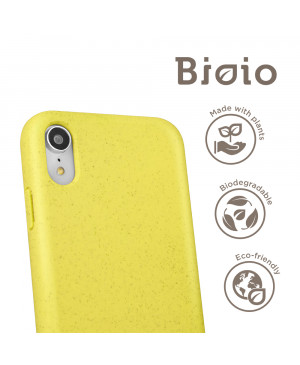 Eco puzdro Forever Bioio pre Apple iPhone XR žlté