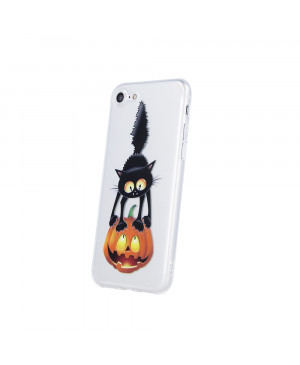Silikónové puzdro Ultra Trendy Black Cat1 pre Apple iPhone 6/6s viacfarebné