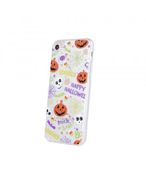Silikónové puzdro Ultra Trendy Spooky pre Samsung Galaxy S10 viacfarebné