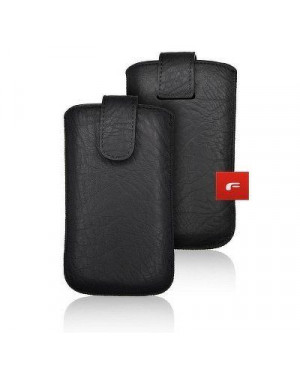 Univerzálne puzdro Forcell Slim Kora 2 pre Apple iPhone 5/5s/SE čierne