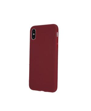 Silikónové puzdro Matt TPU pre Samsung Galaxy S20 Ultra bordové