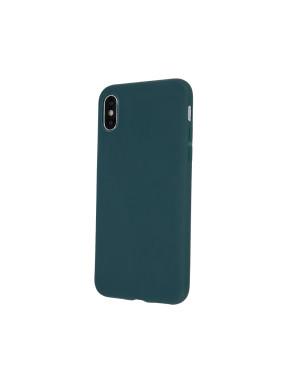 Silikónové puzdro na Xiaomi Mi 11 Lite/Mi 11 Lite 5G Matt TPU zelené