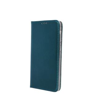 Diárové puzdro Smart Magnetic pre Samsung Galaxy A40 tmavo zelené