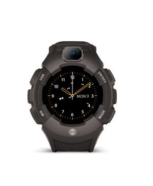 Smart hodinky pre deti s GPS Forever Care Me KW-400 čierne
