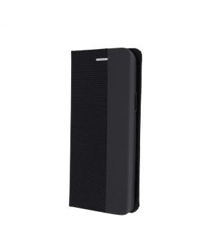 Diárové puzdro na Samsung Galaxy A20e Smart Senso čierne