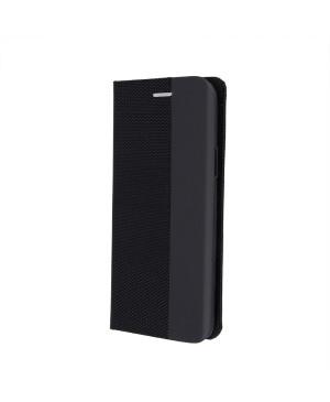 Diárové puzdro na Samsung Galaxy A12 A125 Smart Senso čierne