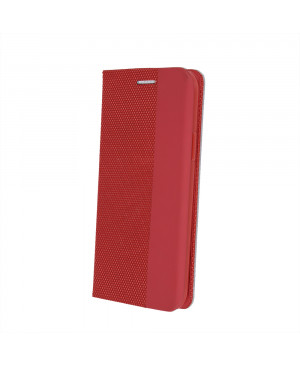 Diárové puzdro Smart Senso pre Xiaomi Redmi Note 8T červené