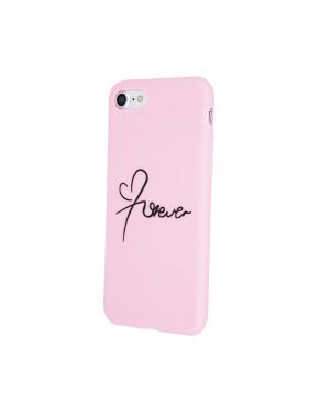 Silikónové puzdro Forever Love pre Apple iPhone 11 Pro Max ružové