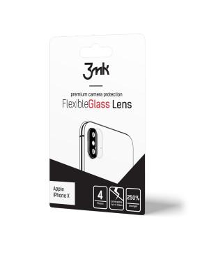 Sklo na fotoaparát 3MK Flexible Xiaomi Redmi Note 9S/Note 9 Pro (4ks)