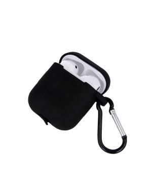 Silikónové puzdro pre Apple Airpods čierne