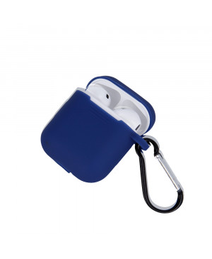 Silikónové puzdro pre Apple Airpods modré