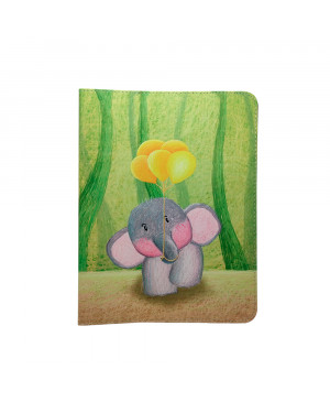 """Univerzálne puzdro Elephant pre tablet 7-8"""" viacfarebné"""