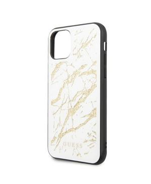 GUHCN65MGGWH Guess Marble Glass Zadní Kryt pro iPhone 11 Pro Max White (EU Blister) (Prislusenstvo)Späť Vynulovať Zmazať Kopírovať Uložiť Uložiť a pokračovat v úpravách