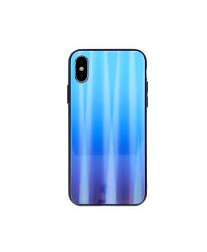 Plastové puzdro Aurora Glass pre Samsung Galaxy A51 modré