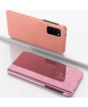 Diárové puzdro Smart Clear View pre Huawei P Smart 2019/Huawei Honor 10 Lite ružové
