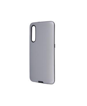 Silikónové puzdro na Samsung Galaxy A21 Defender Smooth strieborné
