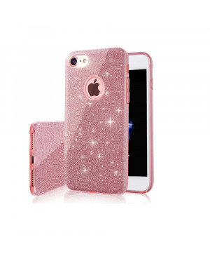 Silikónové puzdro na Huawei P40 Pro Glitter ružové