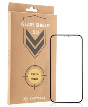 Tvrdené sklo na Apple iPhone 13 Pro Max Tactical Shield 5D čierne