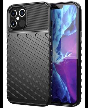 Odolné puzdro na Samsung Galaxy S21 FE 5G Thunder čierne