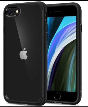 Odolné puzdro na Apple iPhone 7/8/SE 2020 Spigen Ultra Hybrid čierne