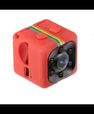 Webkamera Mini FullHD B4-SQ11 červená