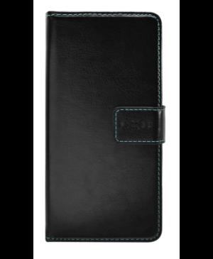 Diárové puzdro na Huawei P40 Lite E FIXED Opus čierne