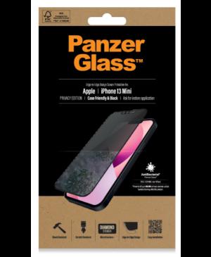 Tvrdené sklo na Apple iPhone 13 mini PanzerGlass Case Friendly Privacy AB čierne