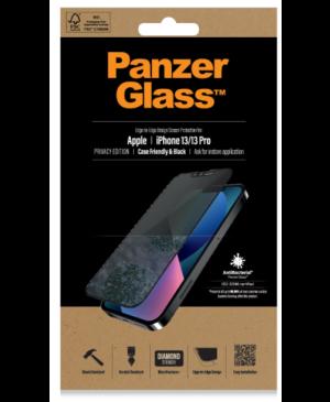 Tvrdené sklo na Apple iPhone 13/13 Pro PanzerGlass Case Friendly Privacy AB čierne