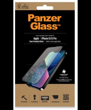 Tvrdené sklo na Apple iPhone 13/13 Pro PanzerGlass Case Friendly AB čierne