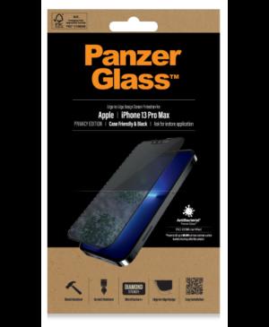 Tvrdené sklo na Apple iPhone 13 Pro Max PanzerGlass Case Friendly Privacy AB čierne