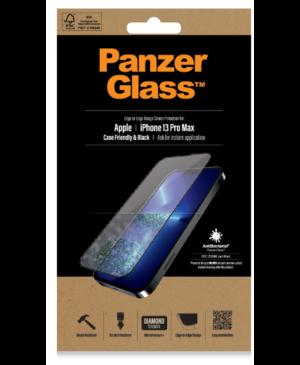 Tvrdené sklo na Apple iPhone 13 Pro Max PanzerGlass Case Friendly AB čierne