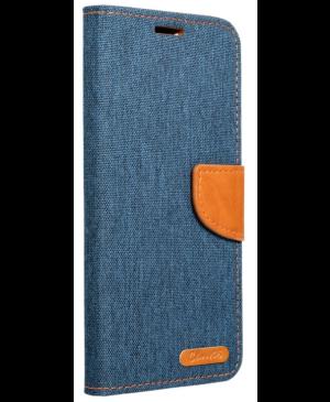 Diárové puzdro na Samsung Galaxy A03s Canvas modré