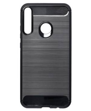 Silikónové puzdro na Huawei P40 Lite E Forcell Carbon čierne