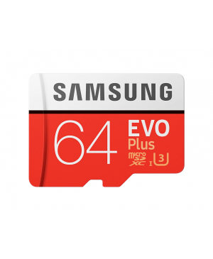 Pamäťová karta Samsung SDXC 64GB EVO Plus + SD adaptér