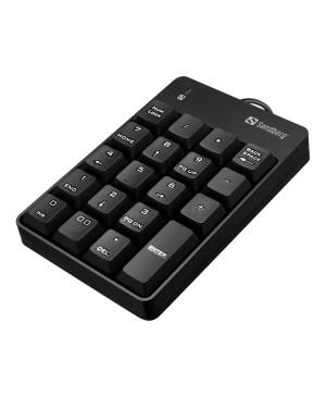 Numerická klávesnica USB Sandberg čierna