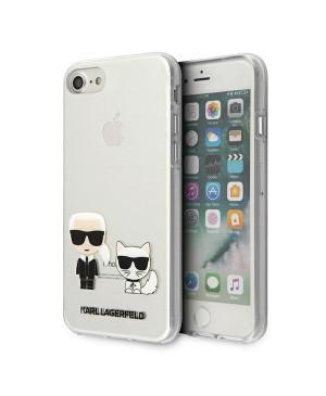 Puzdro Karl Lagerfeld na iPhone 7/ iPhone 8/ iPhone SE 2020 KLHCI8CKTR Karl & Choupette